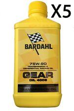 Bardahl Gear Oil 4005 SYNT 75W-90 1L Olio Lubrificazione Trasmissione