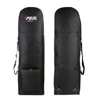 New Foldable Golf Bag Travel Aviation with Wheels Large Capacity Club Cover
