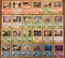 Pokemon Gym Heroes uncommon cards Magmar Slowbro Misty Brock Etc you Choose