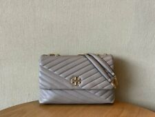 Women Tory Burch Kira Chevron Large Convertible Shoulder Bag Crossbody Handbag