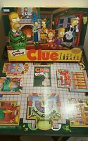 The Simpsons Clue Board Game Replacement Game Board w/Box