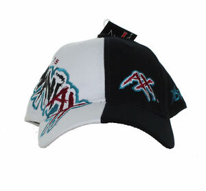 XFL - Memphis Maniax - Vintage Text and Logo on Two Tone Adjustable Hat