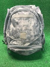 "US ARMY National Guard Tactical Camo Backpack Bag Large 21""x14"" With Chest Strap"