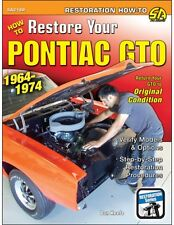 How to Restore Your Pontiac GTO: 1964-1974 book ~ GOAT ~ BRAND NEW!