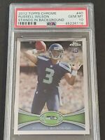 2012 Topps Chrome #40 Russell Wilson RC, PSA 10 / GEM MINT