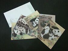 Malaysia China Cooperative Panda 2015 (postcard + envelope) MNH *limit *official
