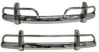 BEETLE Bumpers, US Spec Blades, Stainless Steel, Pair - 113798111