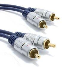 AV:Link Premium RCA Phono Stereo Audio Lead (3M)