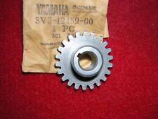 Yamaha TZ125G/H Water Pump Drive Gear. 22T. Genuine Yamaha. New (B16F),
