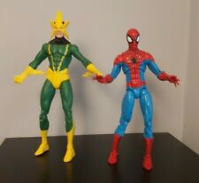 Marvel Select Electro And Spider Man figure bundle 6""