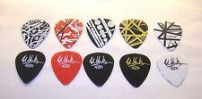 5 Assorted Eddie Van Halen Guitar Picks Dunlop Starbody Frankenstein 0.60mm