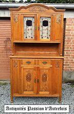 M201750 - Très beau meuble 2 corps en chêne massif début 1900 - Très bon état
