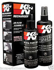 99-5050 K&N AIR FILTER CLEANER & OIL RECHARGER SERVICE KIT