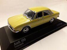 Audi 80 b1 GTE coupé orange-jaune avec Noir Coupe 1972-1978 limitée 1500 St.