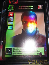SWCCGYJ CCG YOUNG JEDI REFLECTIONS FOIL MINT SUPER RARE N° 4 CAPTAIN PANAKA