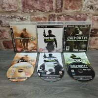 PLAYSTATION 3 - PS3 - CALL OF DUTY GAME BUNDLE - MODERN WARFARE 2,3 & 4