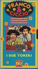 FRANCO E CICCIO - I DUE TORERI (1964) VHS