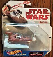 Disney Hot Wheels Starships Collectible Star Wars Luke Skywalkers Landspeeder