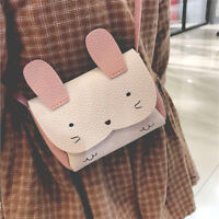 Women Girls Bag Cute Cartoon Rabbit Small Cross-body Shoulder Bag Purse S