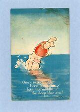 Kewpies - Klever Kard - Rose O'Neill's Kewpies Vintage Postcard - Campbell Art