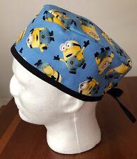 Minions - Men's Surgical Scrub Hat - Skull Cap
