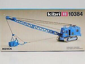 Kibri 10384 HO Menck Excavator w/drg-Bucket Building Kit/Box