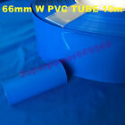 10m 32.8FT 43-66mm wide shrinkable tube PVC colorful shrinkage wrap tubing cell