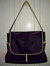 MEDELA Black w White Trim Adjustable Strap Shoulder Bag for Breast Pump/Supplies