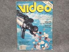 Video Magazine March 1985 Volume 8 Number 12 Rock Video Antique TVs Polaroid