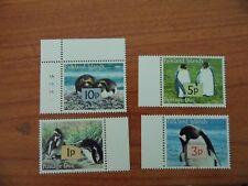 2005 Falklands Island stamp postage due penguin antarctica wildlife  4 v MNH