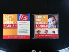 Babys First Words In Spanish By Ericka Levy Ph. D Living Language, book, cd