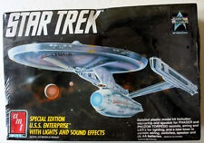 Star Trek Star Ship U.S.S. Enterprise Ertl Amt Special Edition Light & Sound Mib