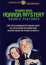 Warner Brothers Horror Mystery Double Feature DVD 6 películas en 3-discs