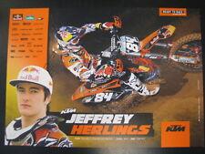 Red Bull KTM Factory Racing 2012 #84 Jeffrey Herlings (NL)
