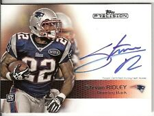 2011 TOPPS PRECISION STEVAN RIDLEY ROOKIE CARD ON-CARD AUTOGRAPH