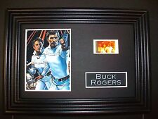 BUCK ROGERS Framed Movie Film Cell Memorabilia Compliments poster dvd book