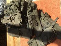Schießhandschuhe Konvolut versch. Größen Bundeswehr BW 3 Finger BW Handschuhe
