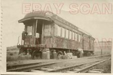 8F769 RP 1940s? COUDERSPORT & PORT ALLEGHANY RAILROAD OLD COACH AS MofW SHOP?