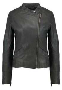 Nümph 'Lawena' Damen Gr. 44 XXL Lederjacke LEDER Jacke Leather Neu Schwarz D522