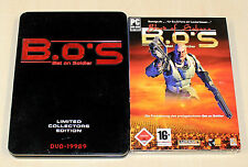 2 pc jeux set-Bet on soldier Limited Collectors & Blood of sahara-b.o.s.