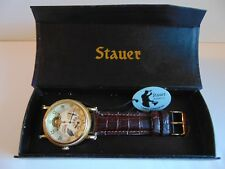 Stauer Series 7 Regulator II 43mm 22J Automatic Gold Fused SS Watch MUST SEE!!!