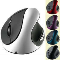 2.4G 2000 DPI Wireless Ergonomic Optical USB Vertical Mouse for PC Notebook Mac