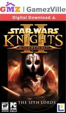 Star Wars Knights of the Old Republic 2 II The Sith Lords Steam key PC código