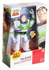 "Mattel Toy Story TALKING BUZZ LIGHTYEAR 7"" Action Figure (20+ Sounds & Phrases!)"