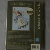 "The Gold Collection Petites Twilight Angel Dimensions 6711 5"" Cross Stitch Kit"