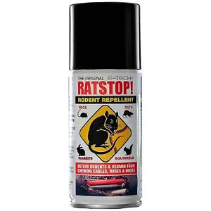 E-Tech Engineering Ratstop Rodent / Pest / Rat / Mice Repellent Spray - 150ml