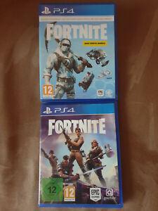 Fortnite Playstation 4 Spiel Disc Version Selten FORTNITE Deep Freeze Bundle