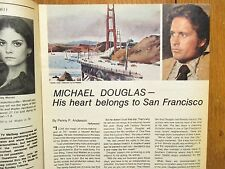 June-1975 Chicago Tribune TV Week Mag(MICHAEL  DOUGLAS/STREETS OF SAN FRANCISCO)