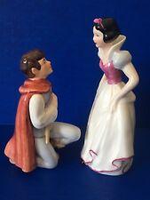 GOEBEL Disney Snow White Prince Charming Pair MINT