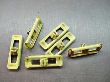 6 pcs 1961 Pontiac Tempest rocker panel moulding clips NOS